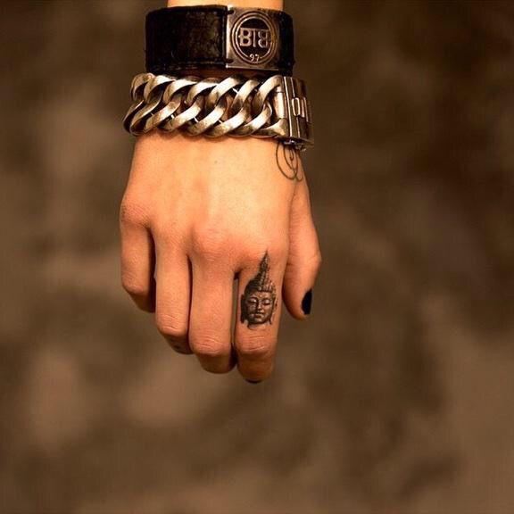 Buddha Finger Tattoo Tattoos Finger Tattoos Buddha Tattoos