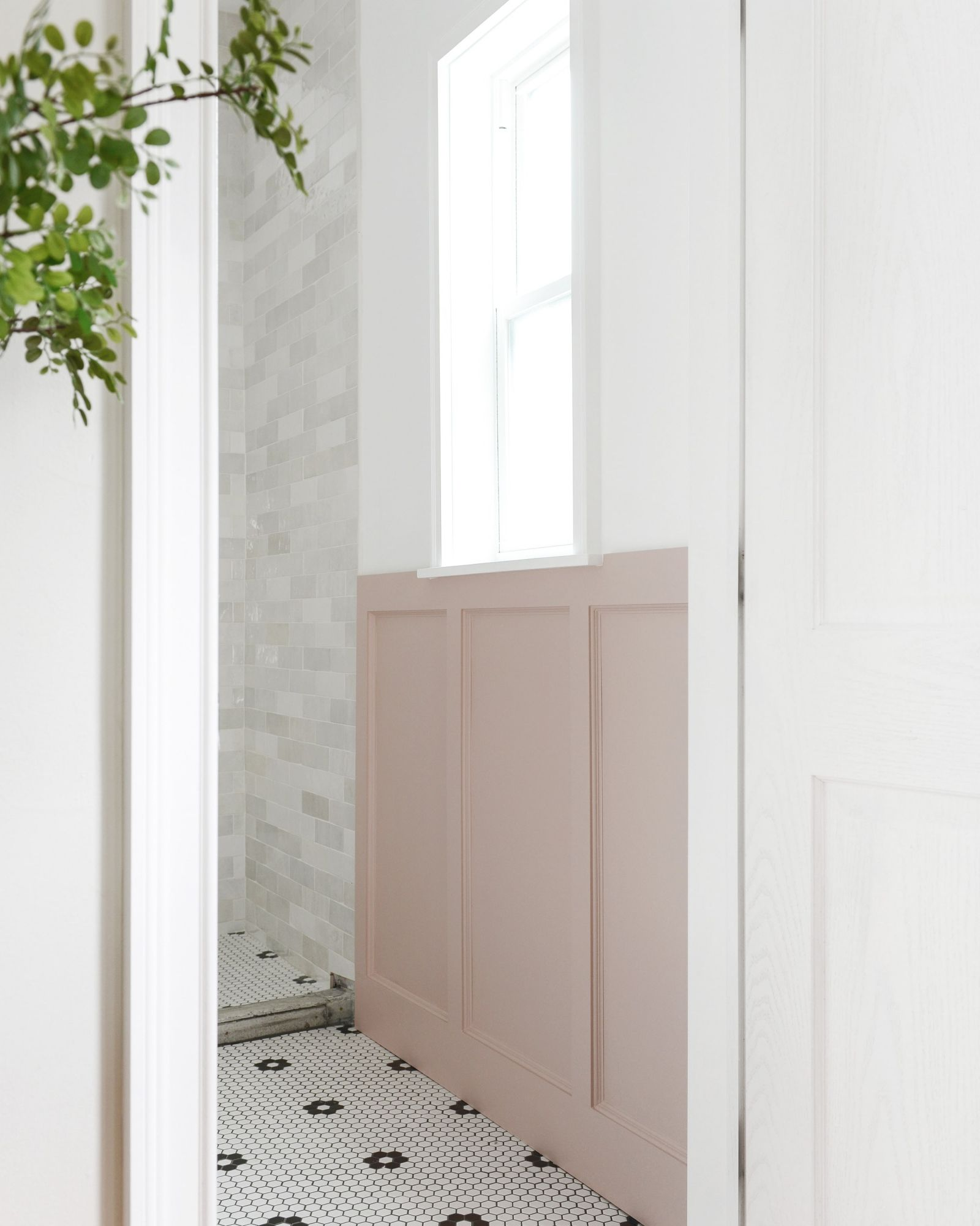 How To DIY (Pink!) Board and Batten Board and batten