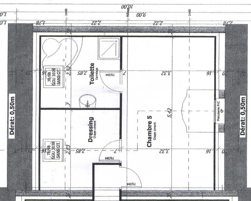 Chambre Parentale Avec Salle De Bain Et Dressing Chambre - Chambre avec dressing et salle de bain plan