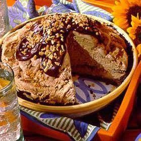 Mississippi Mud Pie      Ingredients:       1 prepared 9-inch (6 oz.)  chocolate crumb crust      1 cup powdered sugar      1 cup (6 oz...