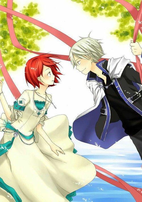 Akagami No Shirayuki Hime Snow White With The Red Hair Shirayuki Zen Snow White With The Red Hair Akagami No Shirayukihime Akagami No