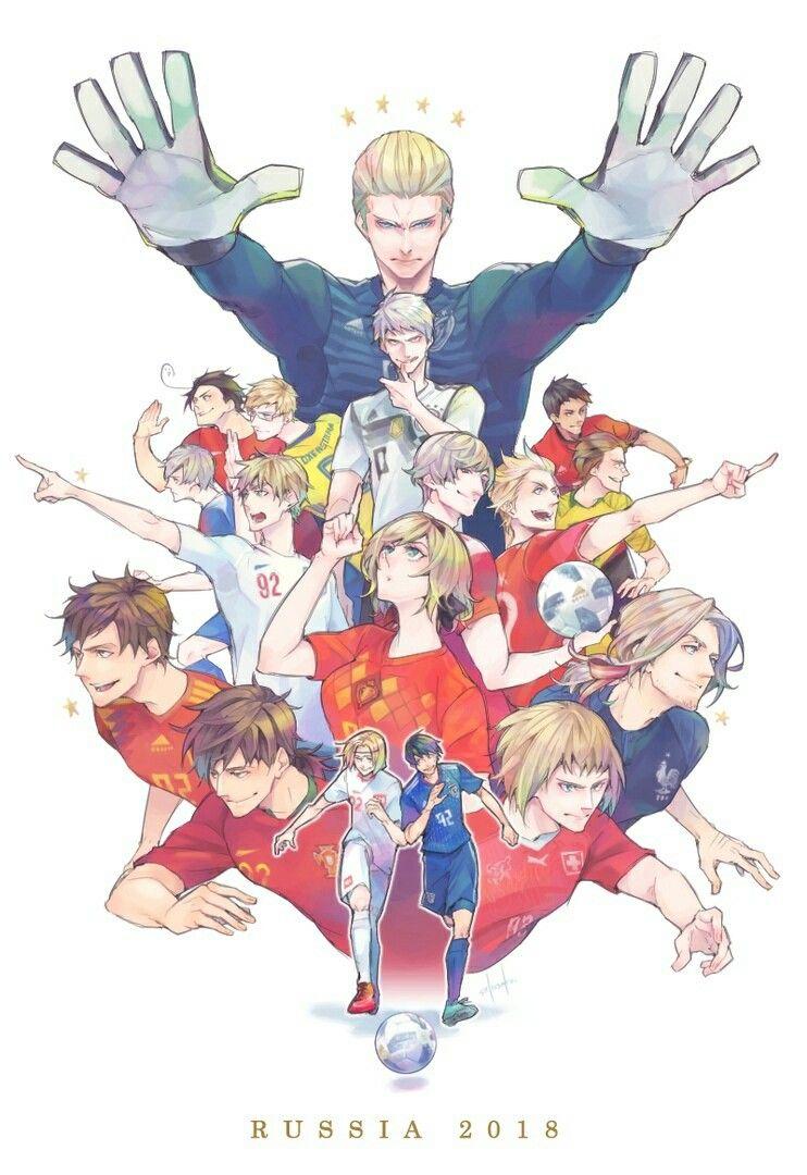 Axis powers hetalia\anime\football\FIFA 2018\world Cup