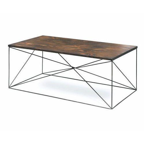 Couchtisch Industriedesign Holz Stahl Loft Unique Original Design