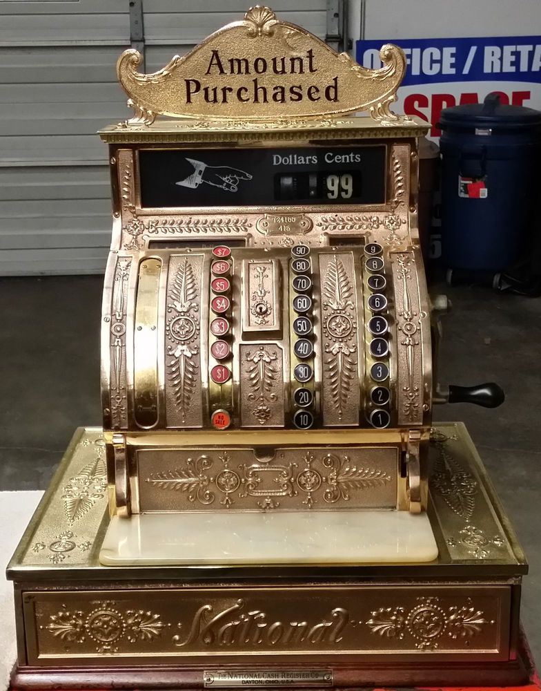 Antique National Cash Register Ncr