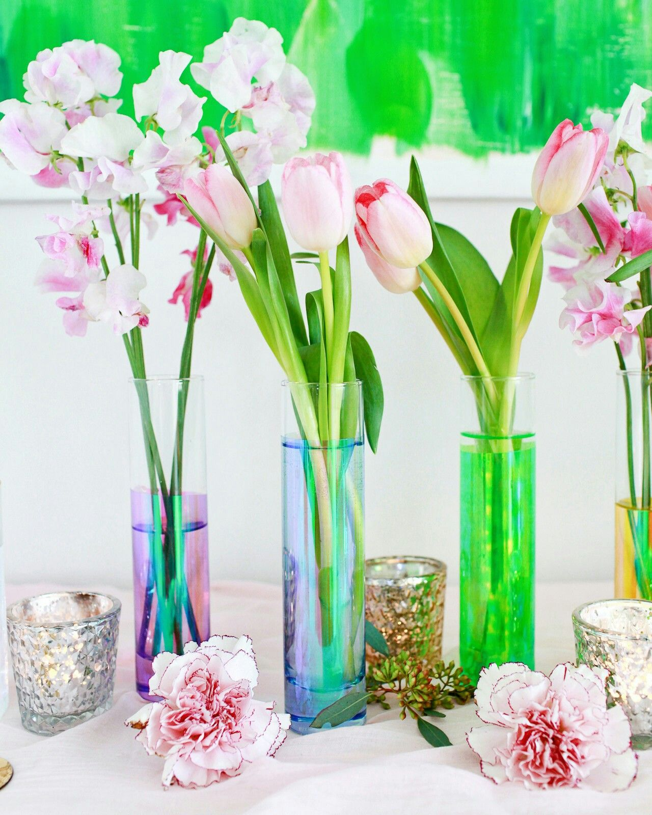 Captivating DIY Iridescent Rainbow Vases: A Quick And Easy Way To Add A Fun Dose Of  Color To Your Next Birthday Party, Baby Shower, Or Gathering! Good Looking
