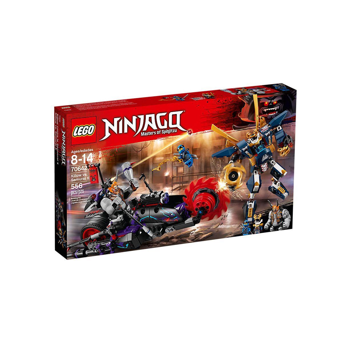 Lego Ninjago 70642 Killow Vs. Samurai X legoland ltoys