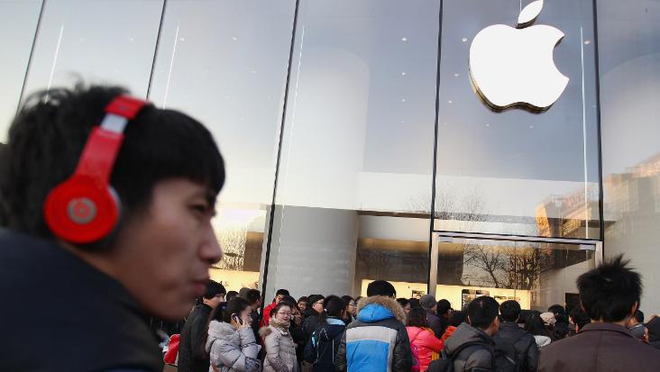 Apple Market Shares & Shipments Fall in China