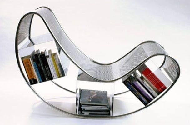 Book Chair Books Chair Design Do You Like Interesting Design - Bookchair combined with bookshelf