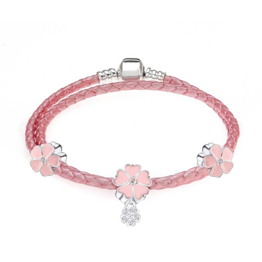 Leather Bangle Bracelets With Charms Womens Fit Pandora Bracelet Beads Charm  Bracelets For Women Bracelets Bangles