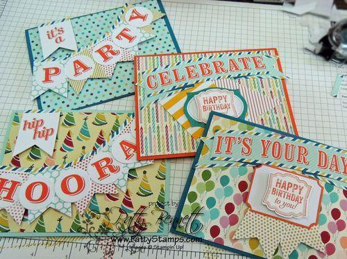 Stampin' Up! July My Paper Pumpkin Kit: Patty's Stamping Spot