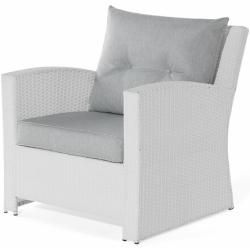Photo of 4-seater lounge set Angelyn made of poly rattan with PolsterWayfair.de