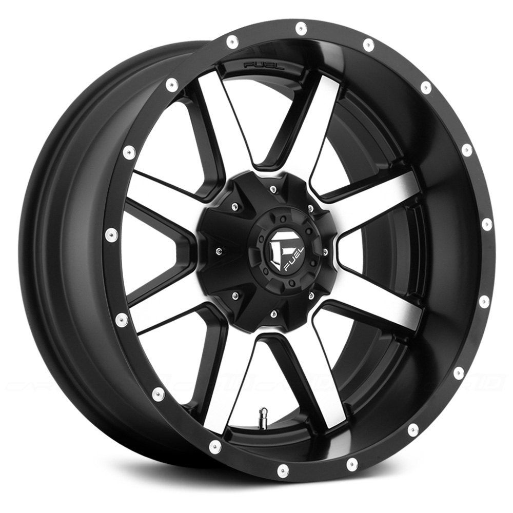 Fuel Maverick 1pc Matte Black With Machined Face Fuel Wheels Fuel Offroad Wheels Custom Wheels And Tires