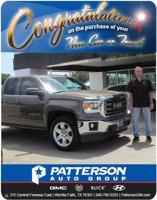 "This beautiful 2014 GMC truck belong to Scot and Lesley. Stella Yarbrough their sales consultant was very happy and excited to see Scot and Lesley get to drive away in the truck that they ""liked a lot."" Congratulations to Scot and Lesley."