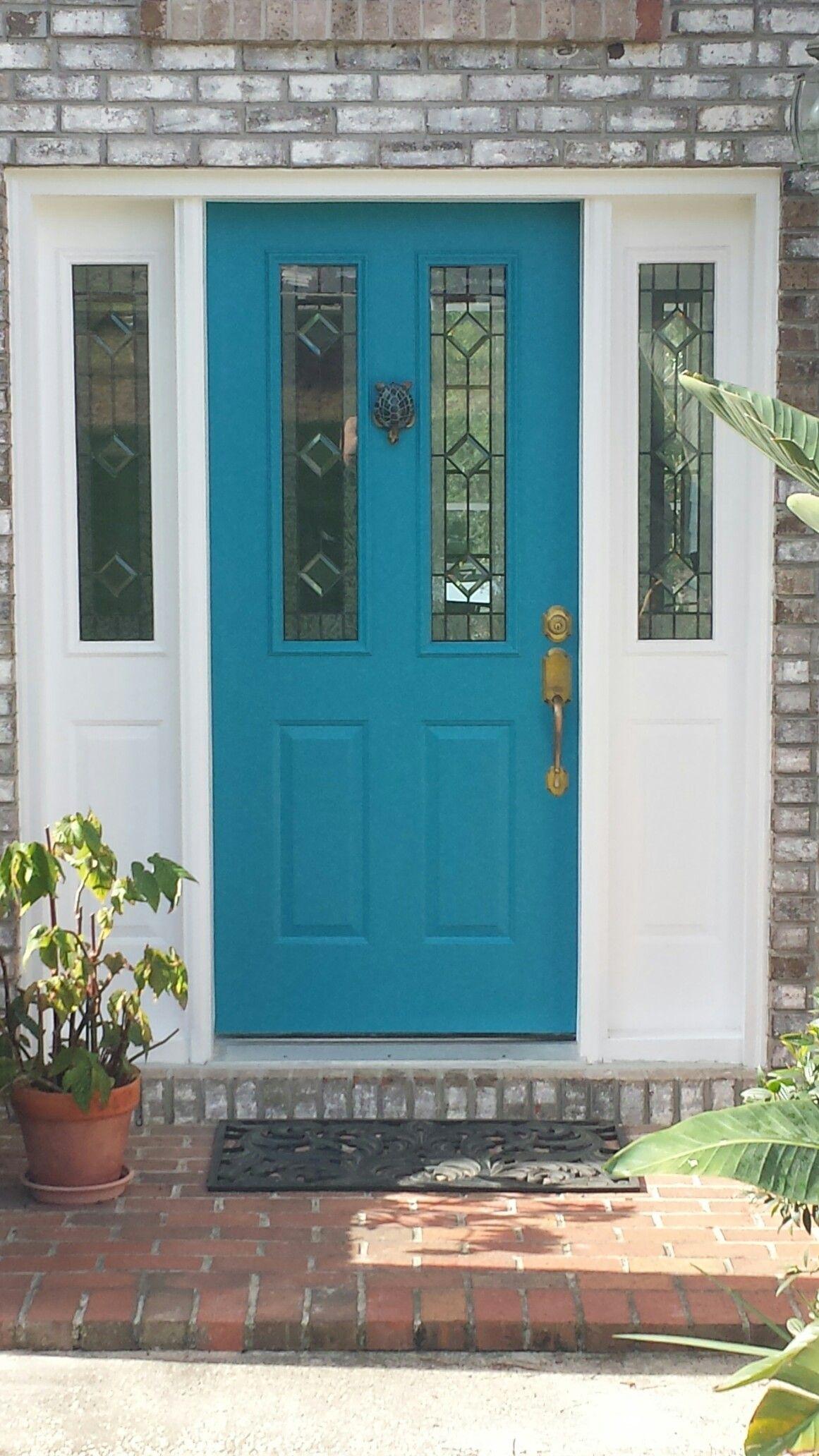 Front Door Face Lift Sherwin Williams Briny Sw6775