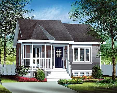 Plan 80004pm small country home plan my mom backyard for Backyard bungalow plans