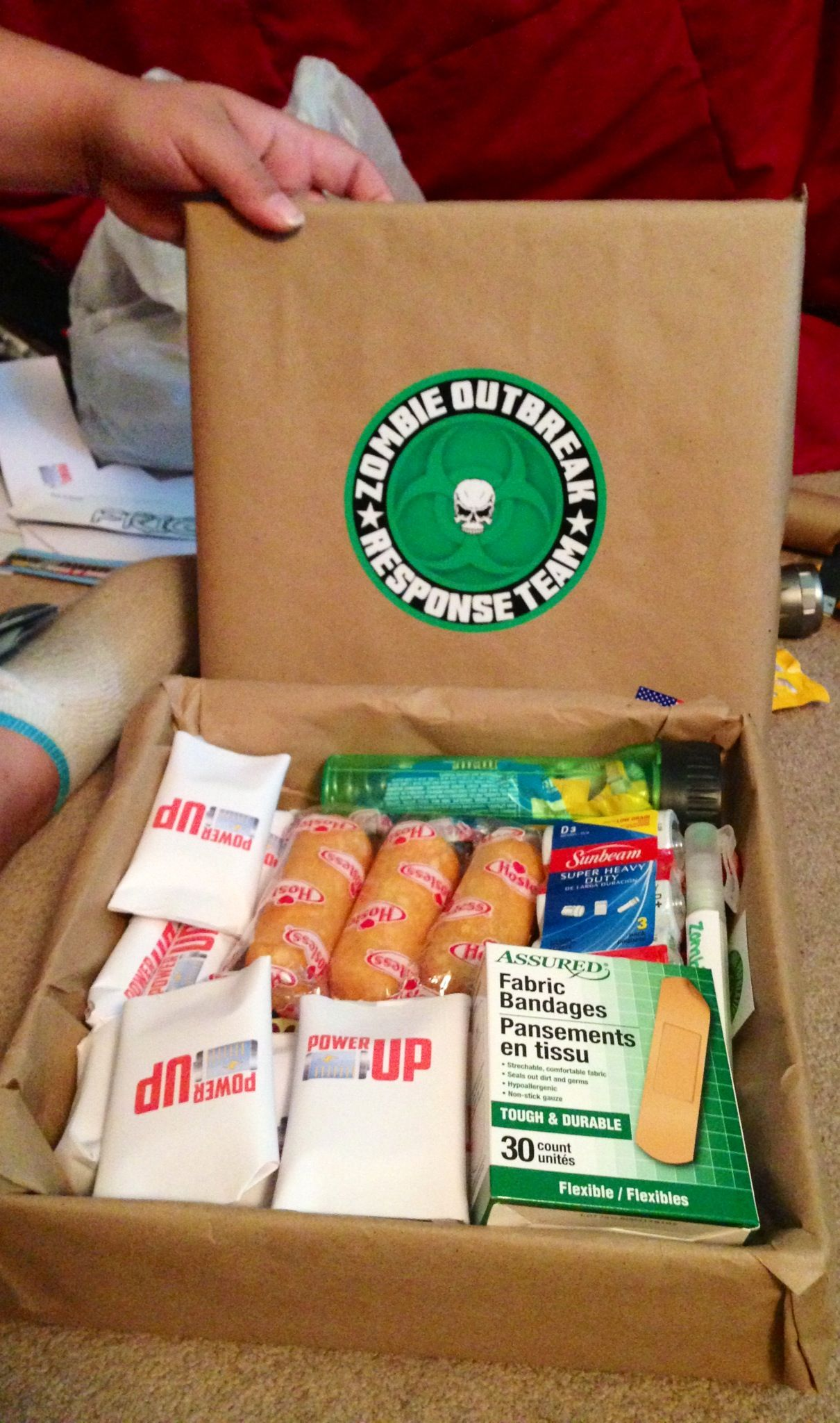 Pin By Ashley Chellino On Been There Done That Funny Boyfriend Gifts Zombie Survival Kit Boyfriend Gifts