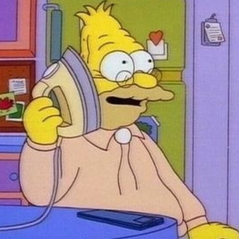 The Simpsons Central On Instagram Hello Can You Hear Me The Simpsons Simpsons Meme Simpsons Funny