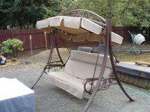 outdoor patio swing canopy swing