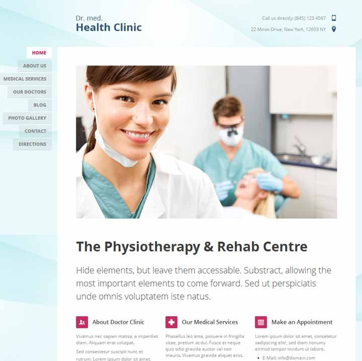15+ Best Medical wordPress themes for Doctors Dentist and ...
