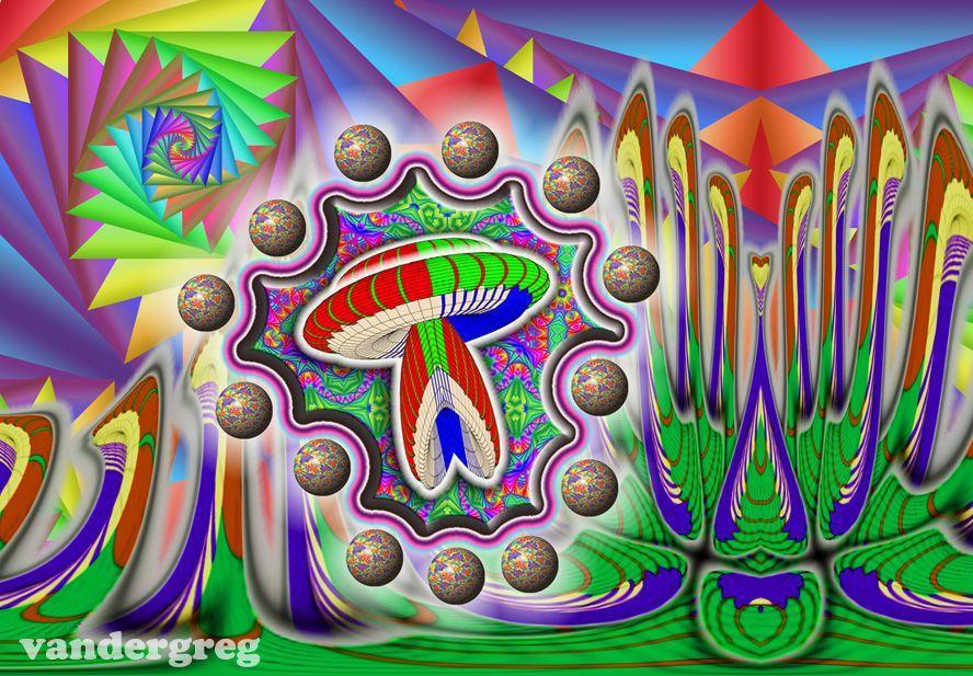 Spaceship Mushroom