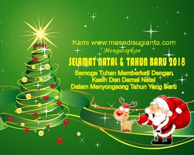 Kartu ucapan natal dan tahun baru word  Ucapan natal, Kartu, dan
