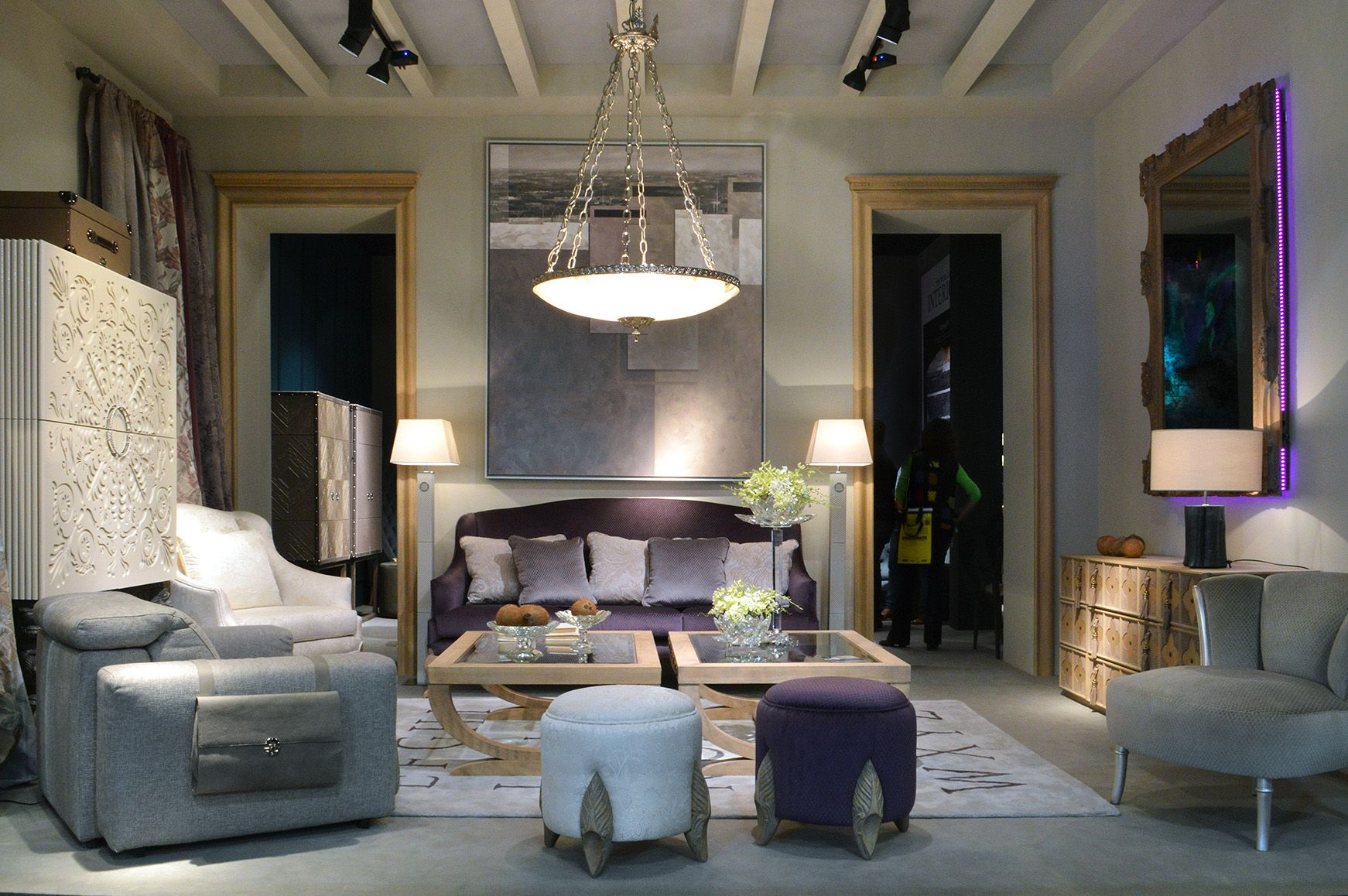 Coleccion alexandra stand at il salone milano 2014 for Il salone milano