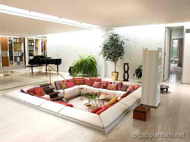 Charmant Cool Chaise Lounge Living Room Arrangement