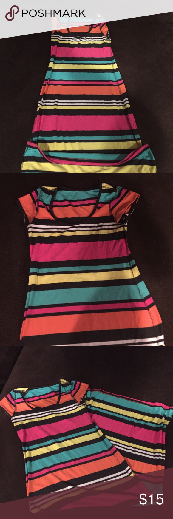 Maxi dress long maxi dress comes to my shin size large great for