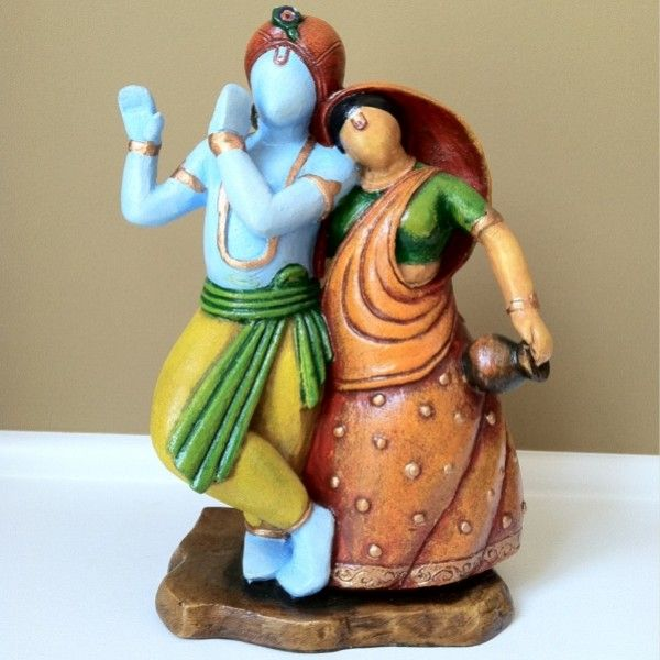 Abstract Radha Krishna