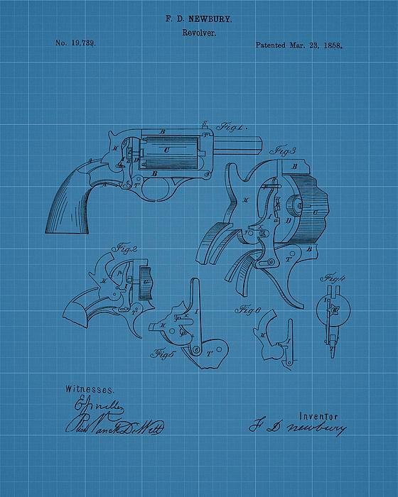 1858 revolver blueprint patent patents for sale pinterest 1858 revolver blueprint patent malvernweather Choice Image