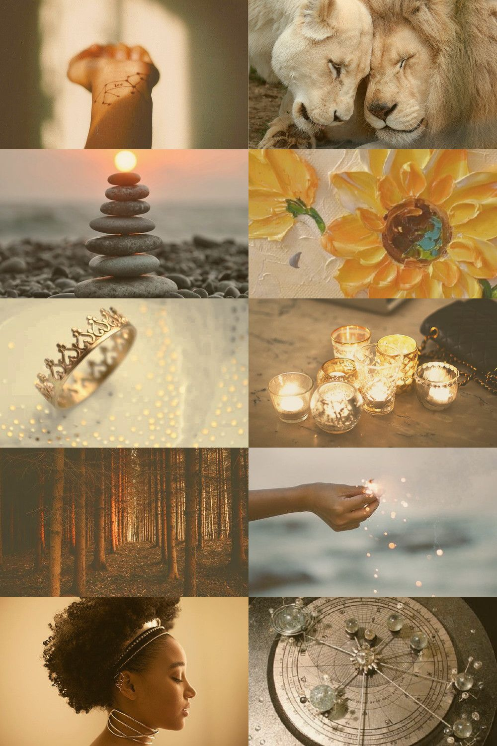 Horoscope Leo Pt 1 Day Aesthetic Collage Witch Aesthetic Aesthetic Wallpapers