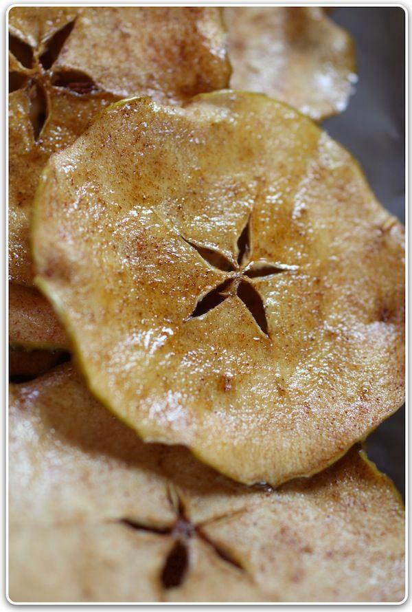 brown sugar apple chips