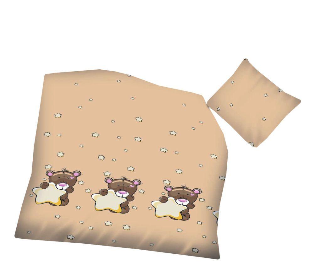 bettw sche 100x1350 cm baumwolle kinder b r tiere b rchen teddy teddyb r jungen aminata kids. Black Bedroom Furniture Sets. Home Design Ideas