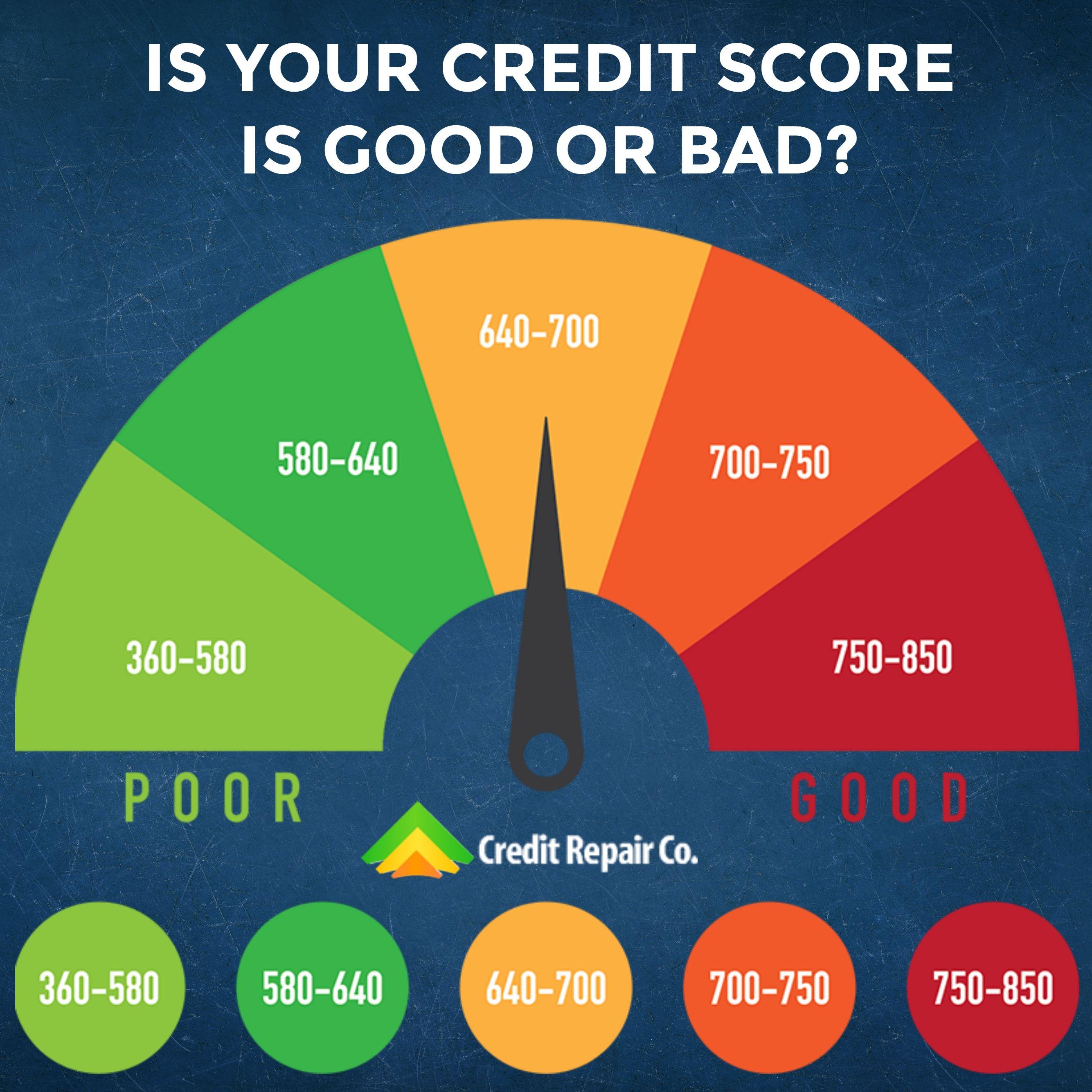 Bad Credit Score 300 599 Poor Credit Score 600 649 Fair Credit Score 650 699 Good Credit Score Good Credit Credit Score Credit Score Infographic