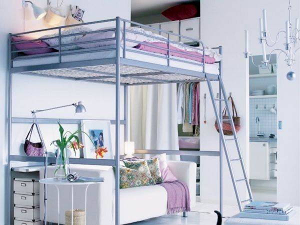 Tromso Ideas Loft Bed Studio Apartment Studio Flat Maids Ikea