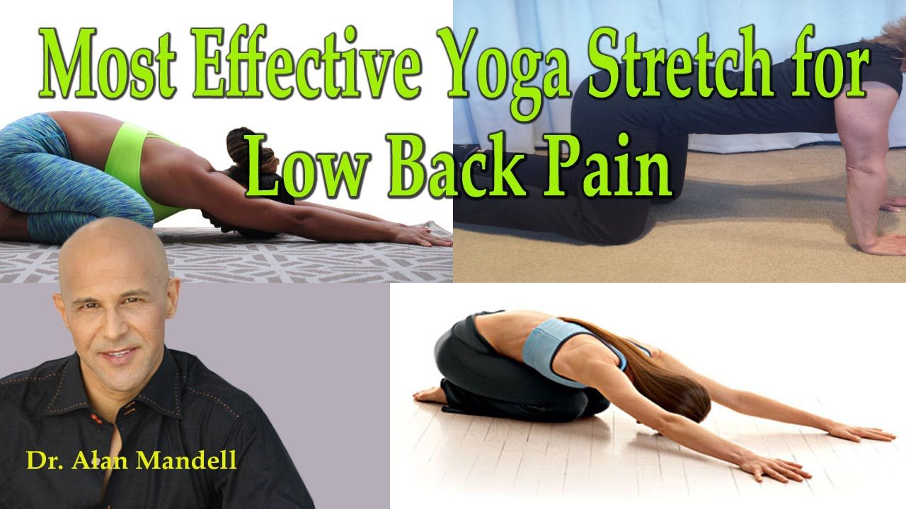 Most Effective Yoga Stretch Exercise for Low Back Pain - Dr Mandell