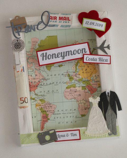 geldgeschenk zur hochzeit honeymoon von purf rstlich auf geldgeschenk. Black Bedroom Furniture Sets. Home Design Ideas