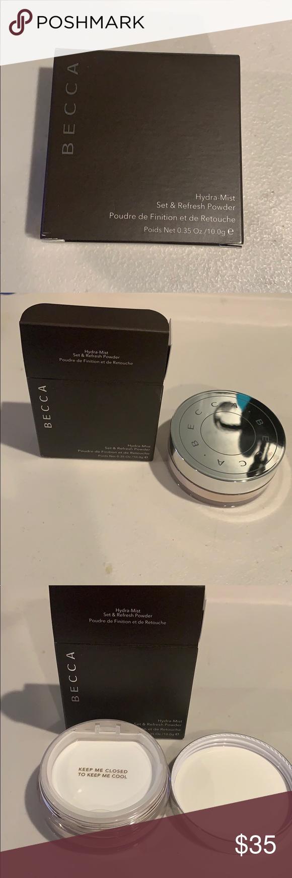 Becca Hydra-mist powder BRAND NEW‼️ In original packaging ...