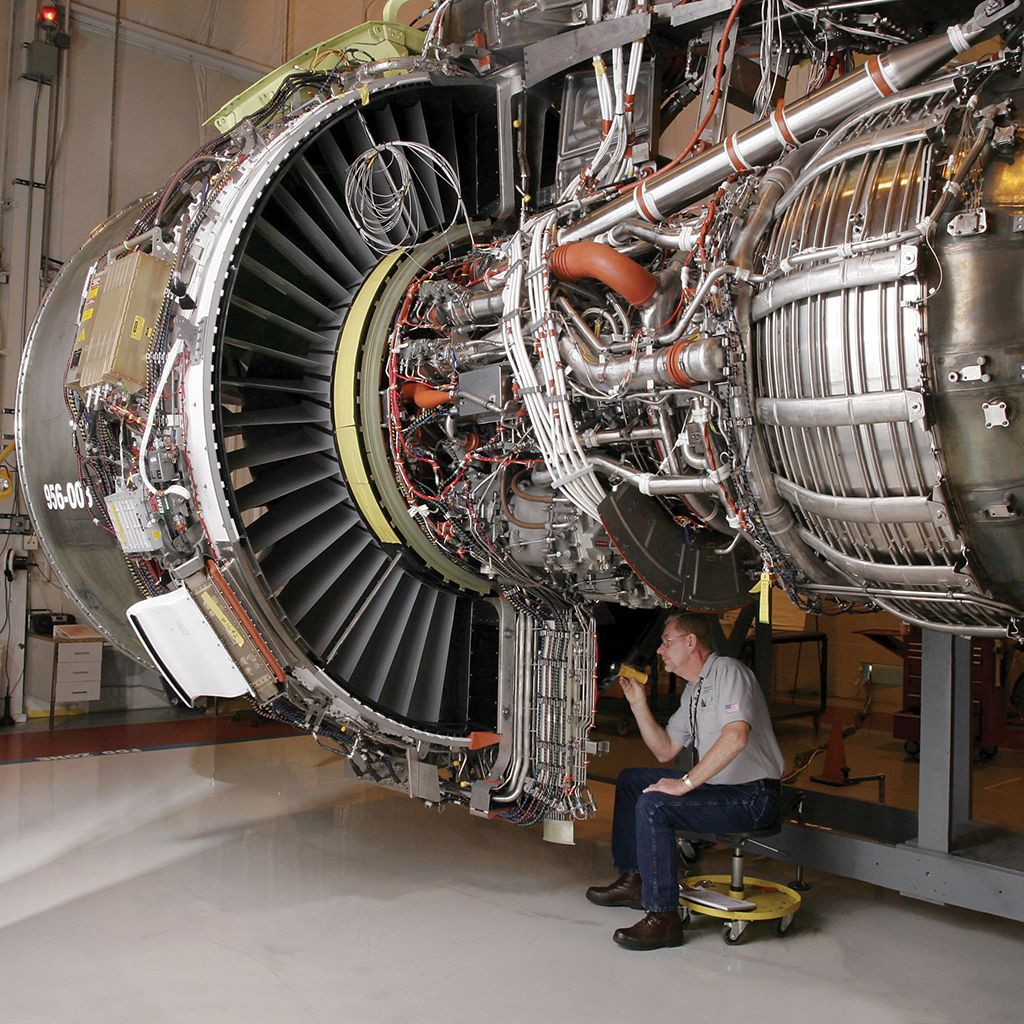 General Electric S Genx Like This 1b Benefits From A