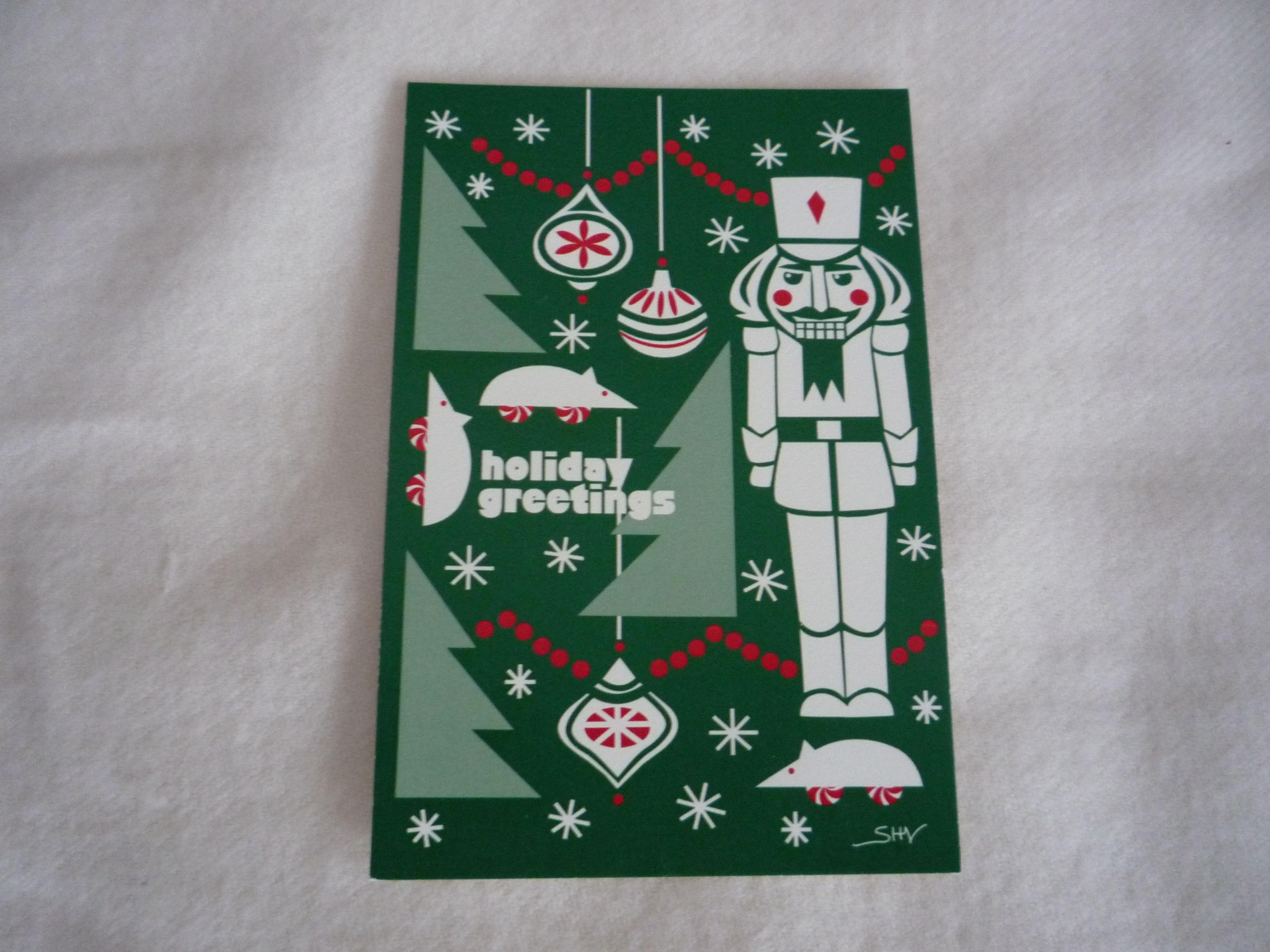classic Nutcracker card Holiday decor, Cards, Nutcracker