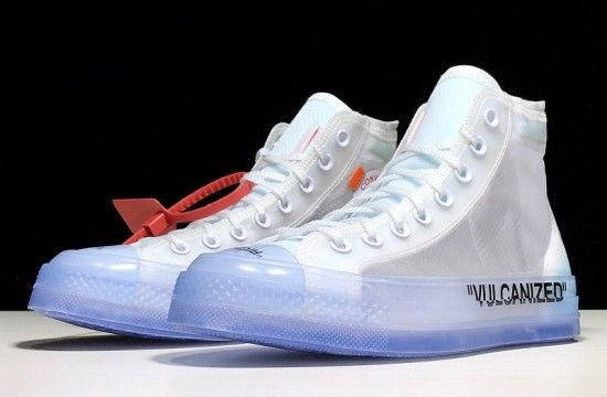 Off White Converse Chuck Taylor All Star Vulcanized Hi The 10