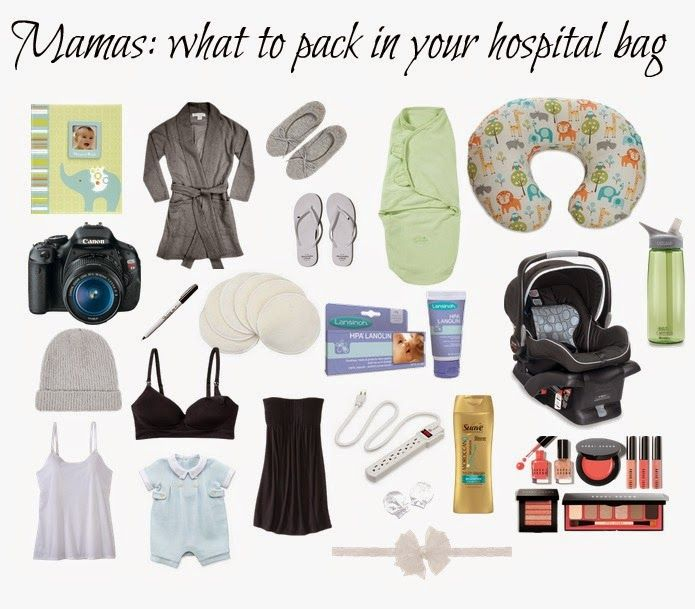 The Chronicles of Ruthie Hart: Mamas: what to pack in your hospital bag