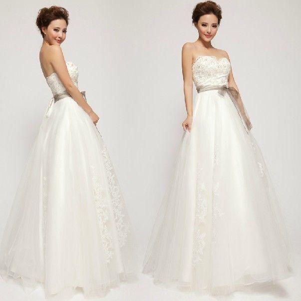 Custom Sweetheart Bowtie Beautiful Fairy Wedding dress bridal Gown All sizes