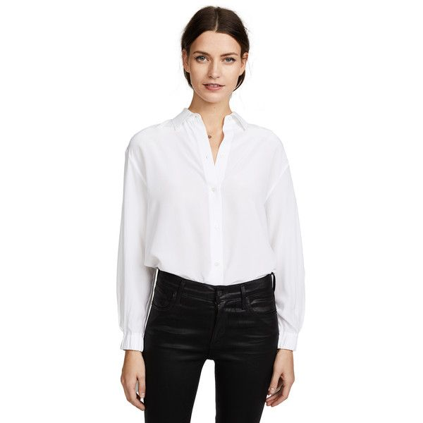be945f6a9d3e1 Vince Tie Sleeve Blouse (15
