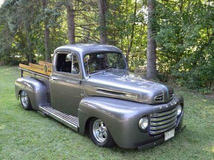 Joseph Abbatello 1948 Ford Truck Classic Trucks Old Ford Pickup Truck