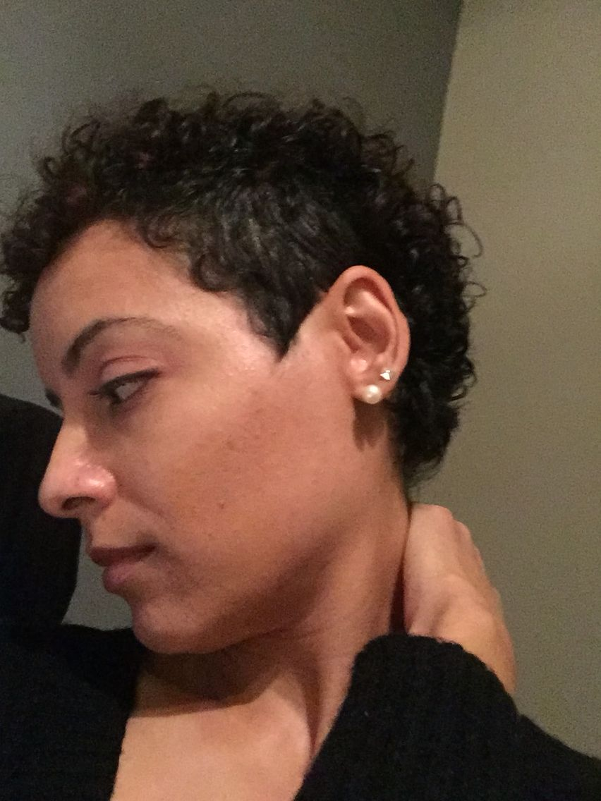 My side shave flow dec growing out my pixie pinterest