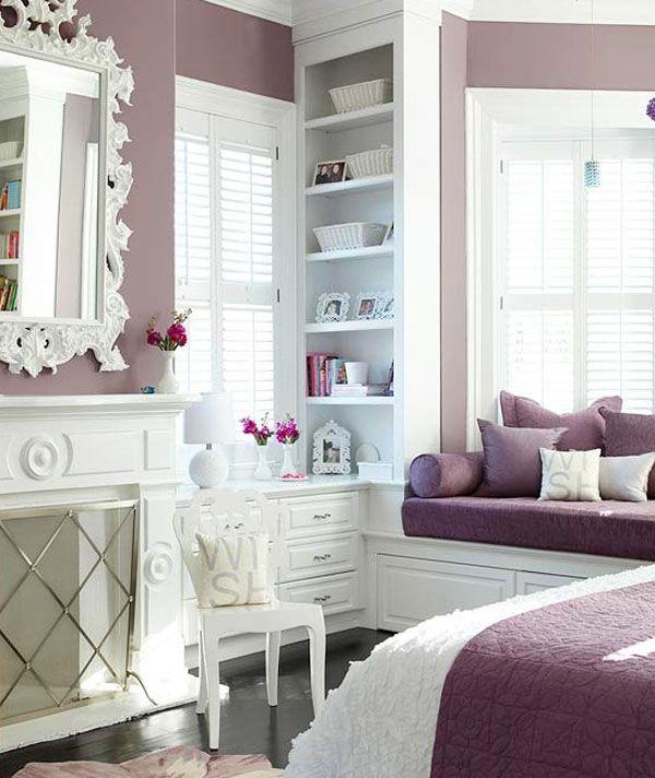 girls bedroom ideas  purple bedroom design purple