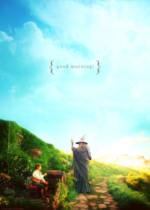 """""""¿Qué quieres decir? ¿Se refiere a desearme un buen día, o decir que es un buen día lo quiera o no, o que se siente bien esta mañana, ¿o que es una mañana para ser bueno en """""""" ... Todo ellos a la vez. """""""