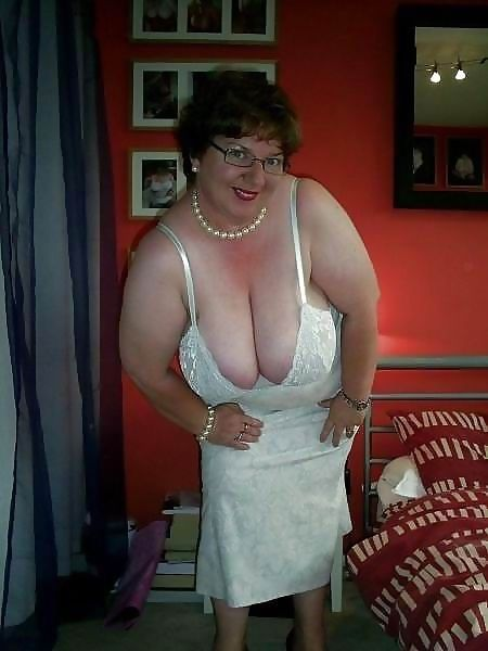 mature granny video