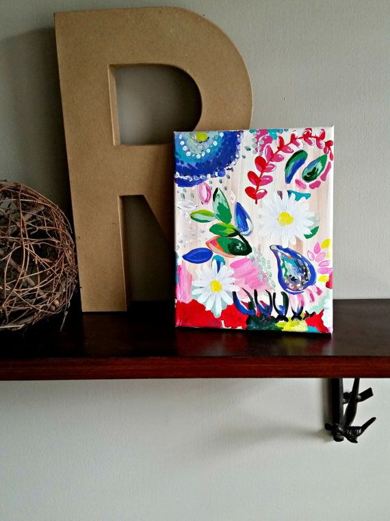 Abstract Flowers by BabyJuliette on Etsy